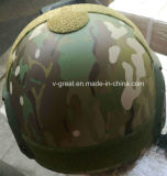 Multicam MTPカラーの防弾ヘルメット