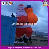 Подарок Santa Claus украшения рождества раздувной вися для украшения рождества случая