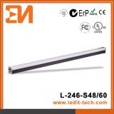 Indicatore luminoso del profilo di paesaggio del tubo del LED (L-246-S48-RGB) Iluminacion