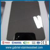 La mejor calidad 1.0m m hoja de acero inoxidable acanalada de 304 colores