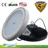 UFO redondo de aluminio Highbay LED de la cortina 240W que enciende IP65 impermeable