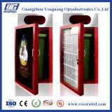 Double énergie solaire latérale annonçant le cadre d'éclairage LED