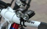 2000 luces del faro de la linterna de la bicicleta de Xm-L U2 LED del CREE del lumen 2X