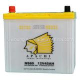 Secar la batería de coche de la carga 12V 45Ah (NS60)