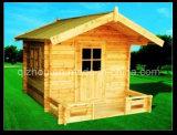 Maison de théâtre en bois extérieure d'enfants