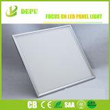 Luz de painel livre do diodo emissor de luz da cintilação 600X600 130lm/W com certificação dos CB de Dlc TUV do Ce