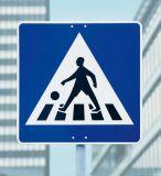 금속 색칠 도로 표지 널 방향 교통 표지