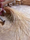 Cesta colgante del cono de la broza y de la estrella de la cuerda de la hoja de palma