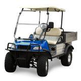Carrito de golf de carga de camiones vehículo portador con el panel solar