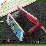 Het mooie Ontwerp van de Oren van het Konijn met Kickstand het Zachte Geval van de Dekking TPU voor iPhone 6 (rjt-0105)