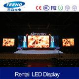 El alto panel de alquiler de interior de la definición P3 RGB LED