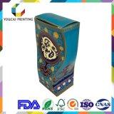 Коробка скачками формы OEM роскошная бумажная с отделкой печатание золота UV