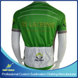 Digital su ordinazione Sublimation Printing Cycling Jersey per Cycling Wear