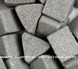 Resina y piedra abrasiva de pulido vitrificada de los medios