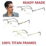 2016 de Nieuwe Optische Frames van het Titanium van het Ontwerp Randloze