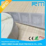 860MHz-960MHz etiqueta de la frecuencia ultraelevada de la ISO 18000-6c&EPC Class1 Gen2 para el parabrisas del coche