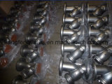 Y-Setaccio 300lb dell'acciaio inossidabile con l'estremità della flangia
