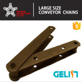 chaîne de convoyeur de bois de charpente d'acier du carbone d'acier inoxydable de la qualité 81X pour le bois