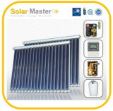 Sistema di riscaldamento a energia solare ad alta pressione spaccato