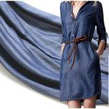 Ткань Tencel одежды ткани Twill качества 21s Tencel Hiqh