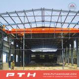 Progetto nel magazzino prefabbricato della struttura d'acciaio del Moldova