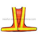 Le gilet r3fléchissant de sécurité routière de DEL reçoivent personnalisé