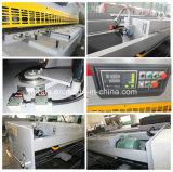 QC12y 시리즈 디지털 표시 장치 유압 4*2500 철 장 그네 광속 깎는 기계 고품질 제품