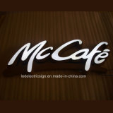 Memorizzare Logo Custom il LED Sign per Energia-Saving Stainless Steel Luminous Word del LED Waterproof