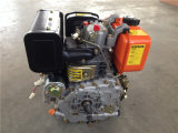 Aire-Cooled de 7HP 4-Stroke 1 Cylinder Small Yanmar Type Recoil Comienzo Diesel Engine