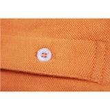 L'original 100% de coton conçoivent des chemises en fonction du client de polo des hommes de mode