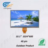 10.1 módulo da tela de toque da relação da polegada TFT LCD Lvds