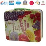 정연한 사탕 주석 상자 금속 상자 점심 주석 상자 165X165X70mm