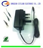 CC Adapter di CA di 18W BS Universal per Switching Power Supply Black
