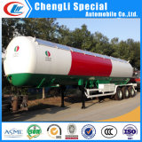 Ghana 20ton 25mt Liquified Petroleum Gas LPG Road Tanker Semi Truck Trailer