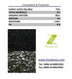 Fertilizante orgánico de Humizone de Leonardite: Sodio Humate granular
