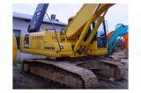 Excavatrice hydraulique d'occasion de chenille du Japon KOMATSU (PC200-7) en Chine