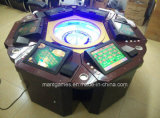 8 Players를 가진 둥근 Luxury Roulette Machine