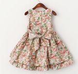 Petites filles vêtant des robes d'usure de gosses de vêtements d'enfants dans des robes de robe de fleur