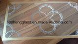 vidro temperado dourado do vidro Tempered da impressão de 2mm