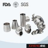 Accessorio per tubi sanitario di alta precisione igienica dell'acciaio inossidabile (JN-FT3002)