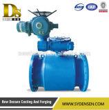 Calor do gás & válvula de esfera inteiramente soldada usada água da flutuação