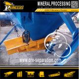 Equipo que introduce vibrante de piedra del mineral del alimentador del proceso mineral de la maquinaria de mina