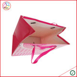 Bolso de compras de papel de lujo de calidad superior con insignia del OEM