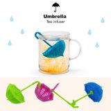 Chá Nontoxic Infuser do silicone de Sahpe do guarda-chuva do produto comestível
