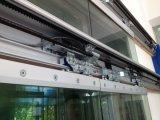 Brides automatiques en verre de porte
