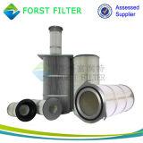 Forst Polyester-Luft-zylinderförmiger Filtereinsatz