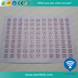 Hojas finas del embutido de F08 RFID de la disposición 3 x 7 del PVC