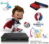 Caixa viva do Android IPTV de Ipremium com Uefa quente 2016
