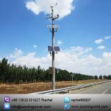 Sistema ibrido di energia solare del vento per il CCTV