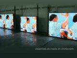 Bekanntmachender farbenreicher LED Display/LED Innenbildschirm des Eisen-P6 des Schrank-